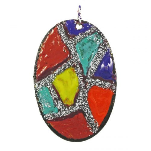 Multi Colour Pendant