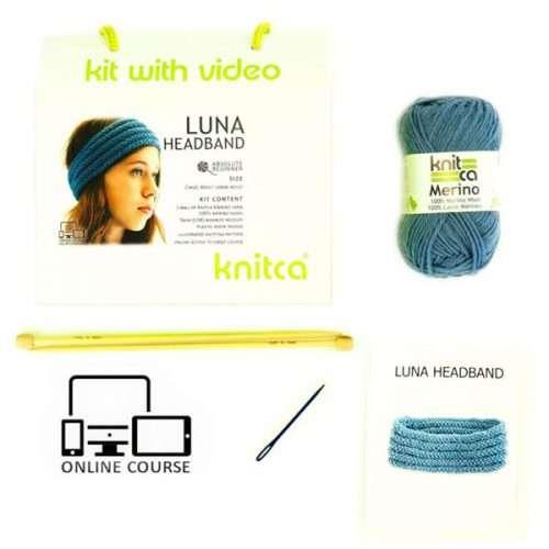 Luna Headband Knitting Kit