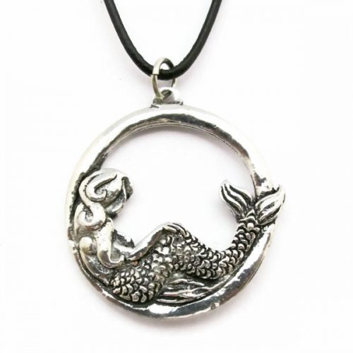Mermaid Hoop Necklace
