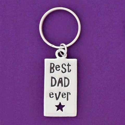 Best Dad Ever Keychain