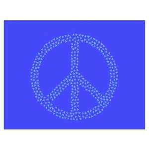 Peace Sign Stencil