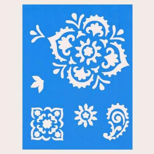 Bejeweled-Stencil