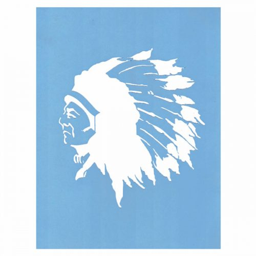 Proud Chief Stencil