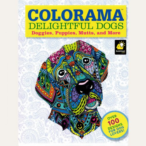 Delightful Dogs Colouring Book