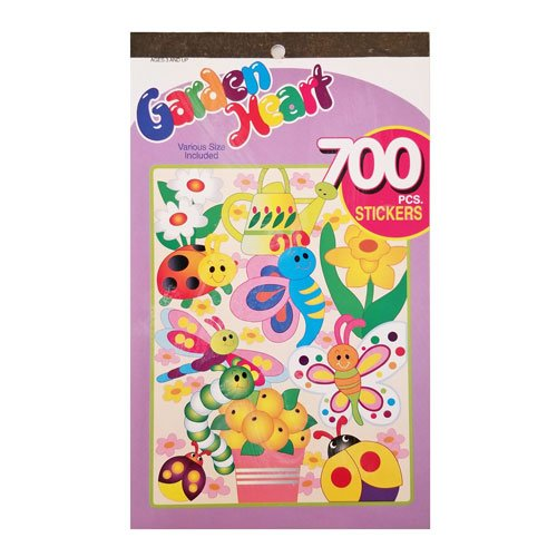 Garden Heart Sticker Book