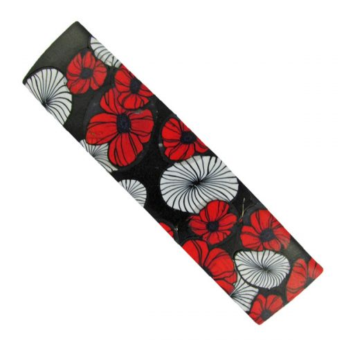 Poppies Hair Barrette