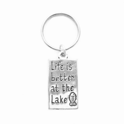 Life is Better at the Lake - Keychain