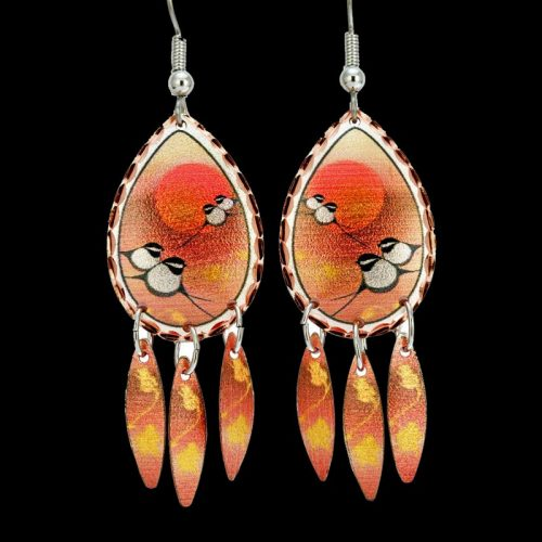 Chickadee Earrings by Rick