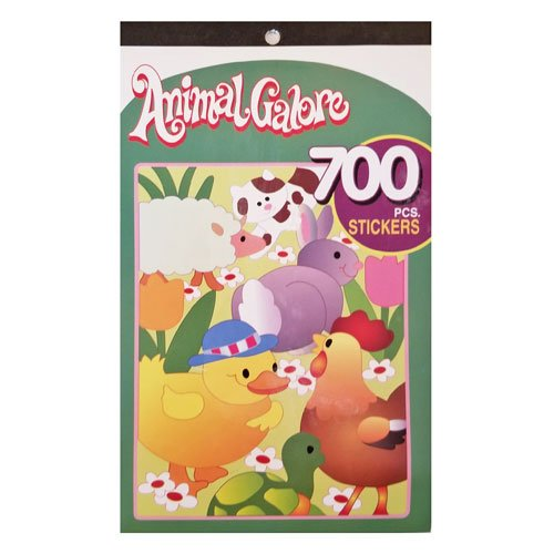 Kids Sticker Book Animal