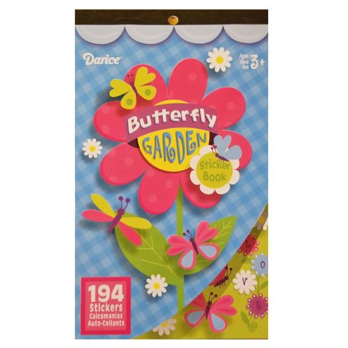 Sticker Book Butterfly Garden