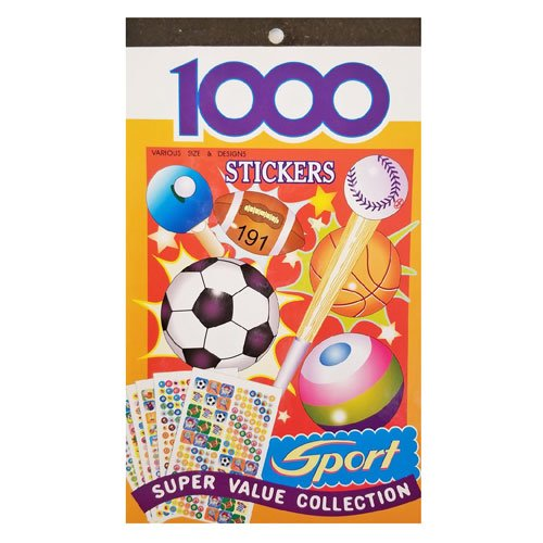 Kids Sticker Book Sport